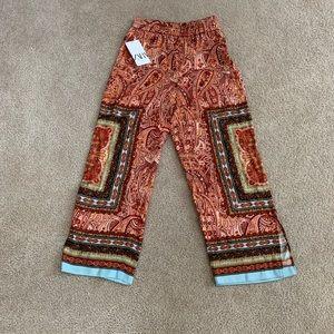 Brand New Zara Bohemian Style Pants